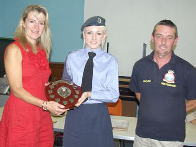 Junior Raft winners - Air Cadets