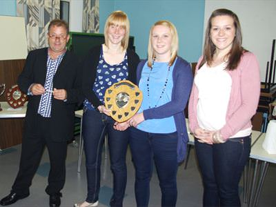 Ladies Raft Winners  - Yr Ieir