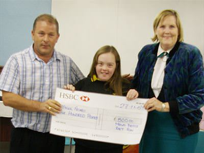 Ysgol Friars Special Needs - £500