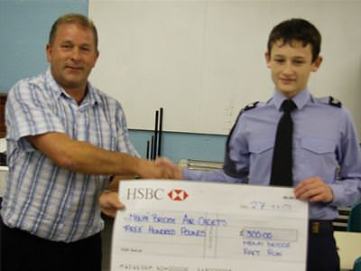 Menai Bridge Air Cadets - £300