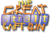 The Great Strait Raft Run Logo